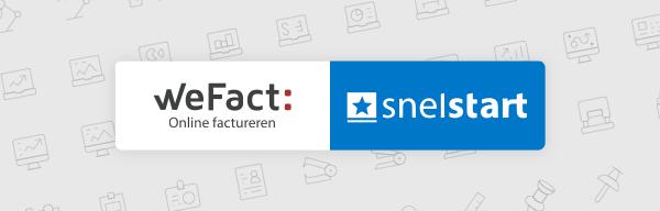 Samenwerking online facturatiepakket WeFact en boekhoudpakket Snelstart